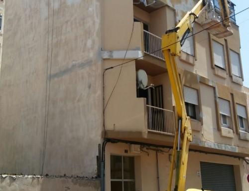 Plataforma elevadora y trabajo vertical