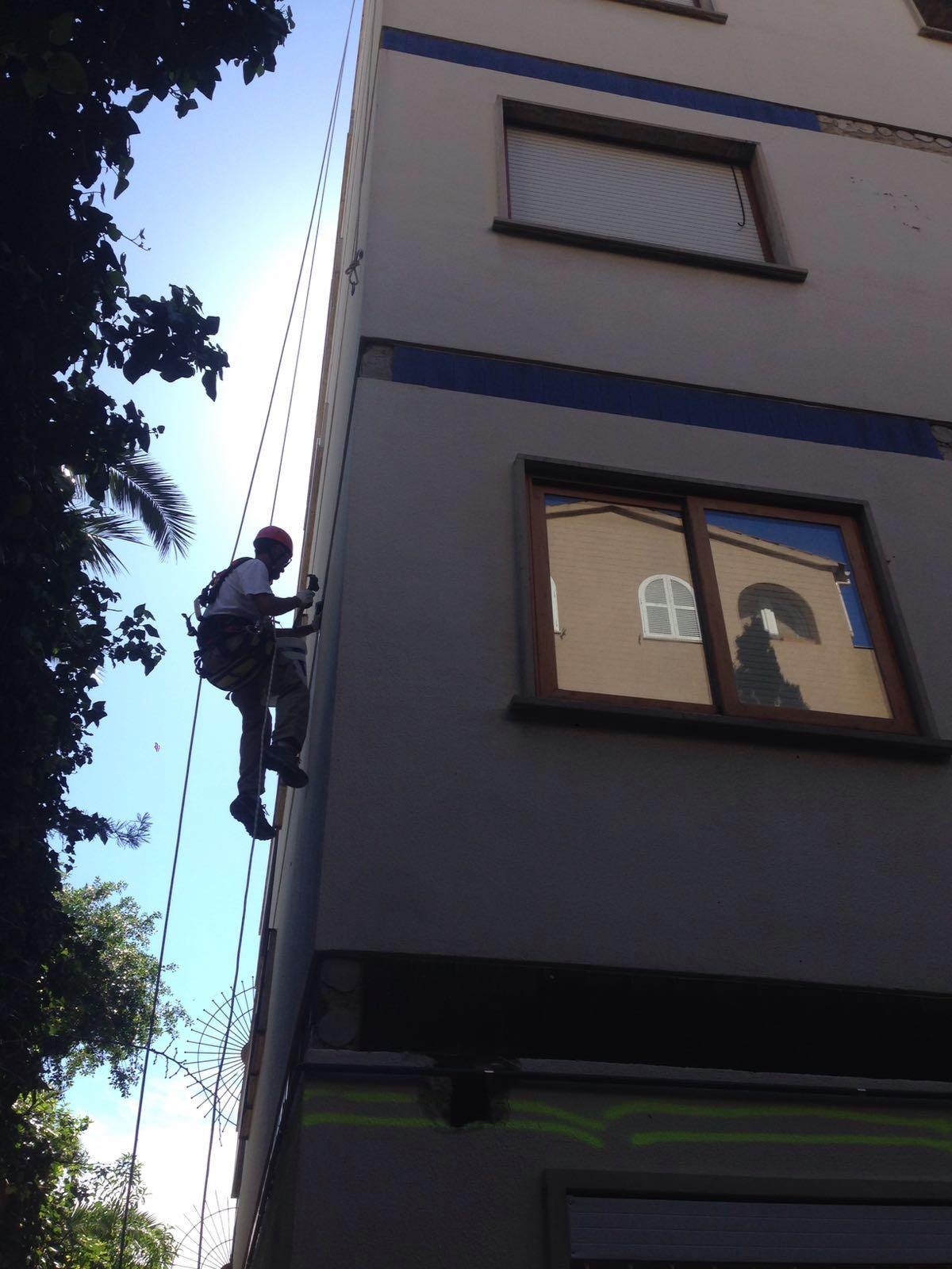 Trabajos verticales en palma de mallorca3 frontis - Trabajos verticales en palma ...